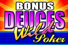 Видео покер bonus Deuces Wild
