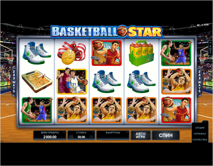 Игровой аппарат Basketball Star