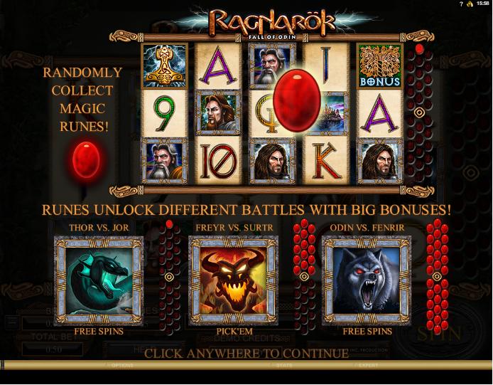 Ragnarok - Fall of Odin