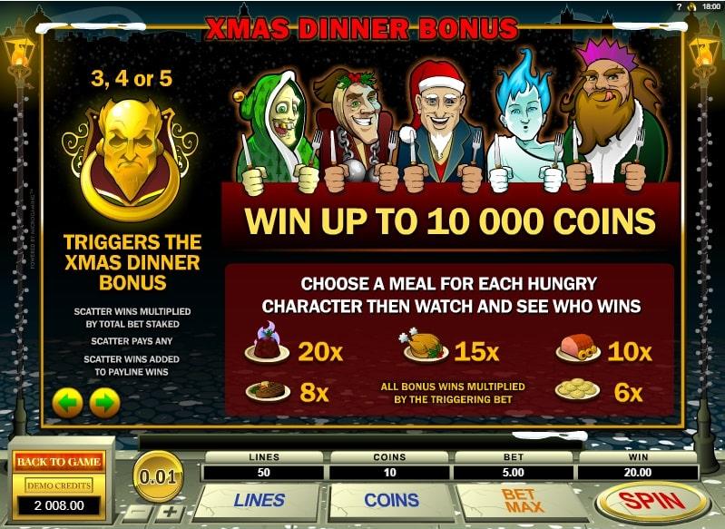 бонусы игрового автомата Scrooge
