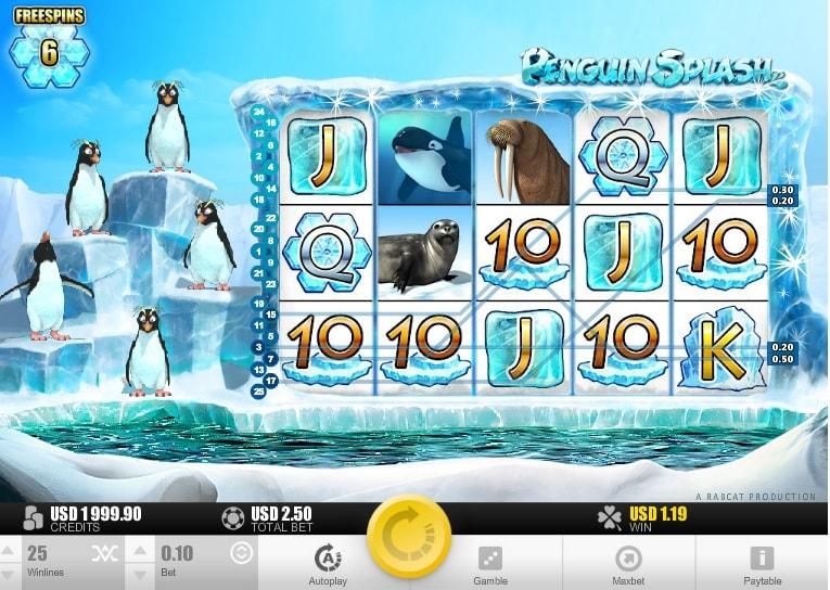 игровой автомат penguin splash
